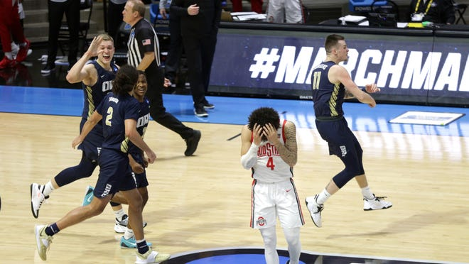 'I was always the underdog': 15 seed Oral Roberts stuns No. 2 Ohio State