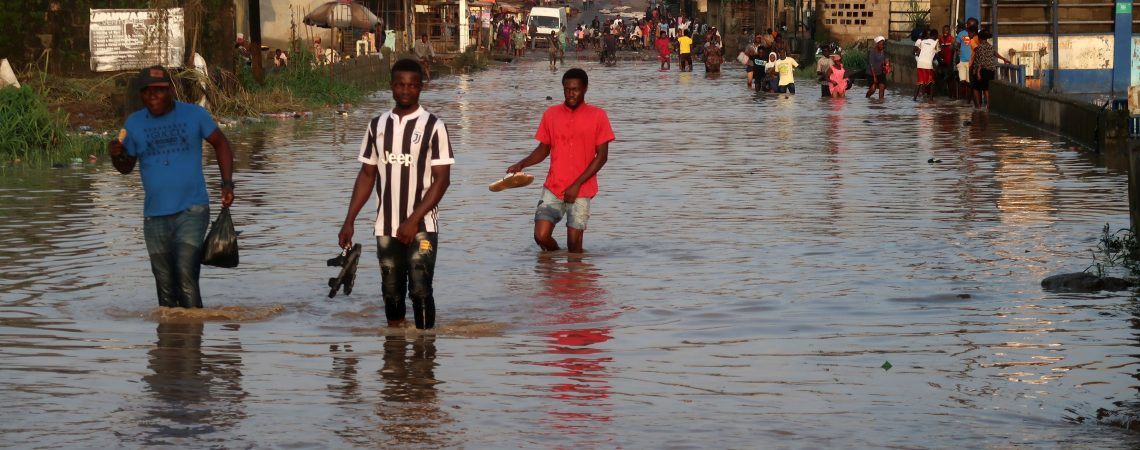 Africa's most populous city is battling floods and rising seas. It may soon be unlivable experts warn